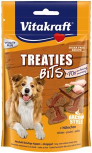 Vitakraft Treaties Bits Senior Kip, Gevogelte, Groente