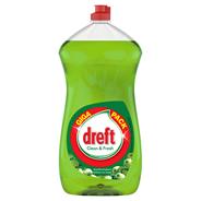 Dreft Clean & Fresh Appelboomgaard Afwasmiddel 1,5 liter
