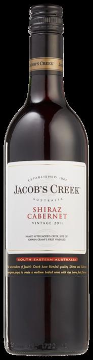 Jacob's Creek Shiraz / Cabernet 6 x 750 ml