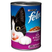 Nestlé Purina Felix Eend & gevogelte in gelei 400 gram