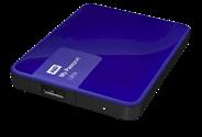 WD My Passport Ultra 2TB blauw