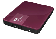 WD My Passport Ultra 2TB rood