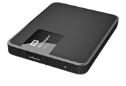 Western Digital My Passport 2.5 Inch externe HDD 1TB Zwart