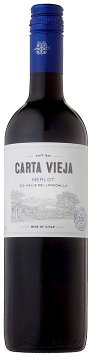 Carta Vieja Merlot 6 x 750 ml