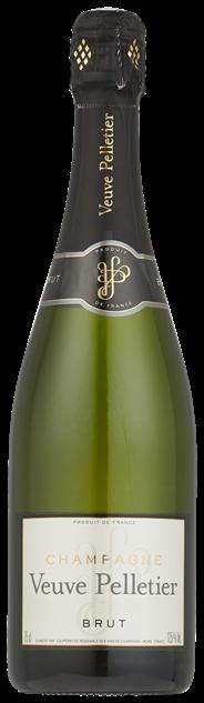 Veuve Pelletier Champagne Brut 6 x 750 ml