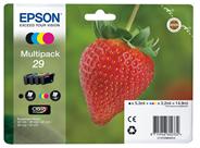 Epson C13T29864022 3.2ml 5.3ml 175pagina's 180pagina's Zwart, Cyaan, Magenta, Geel inktcartridge