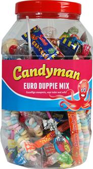 Candyman Euro stuivermix 200 stuks