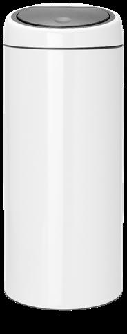 Brabantia Touch Bin Afvalemmer 60 liter wit
