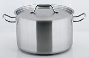 Horeca Select Kookpan RVS 24 cm 6,5 liter