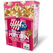 Jimmy's Popcorn Microwave zoet 3 x 90 gram