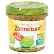 Zonnatura Spinaziespread met pijnboompitten 135 gram