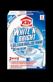 Dylon White 'N' Bright + Vlekverwijderaar  5 x 30 g