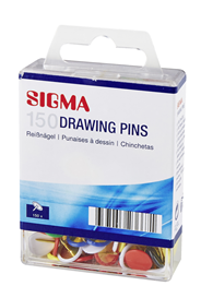 Sigma Punaises kleur 150 stuks