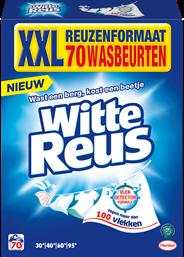 Witte Reus Poeder 3,85 kg 70 wasbeurten