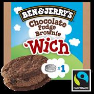 Ben & Jerry's Handijs 'Wich chocolate fudge brownie 20 x 80 ml