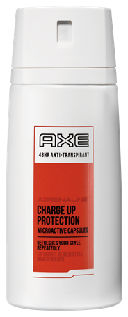 Axe Deodorant anti-transpirant Adrenaline 150 ml