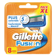 Gillette Fusion Navulmesjes 8 stuks