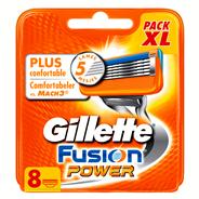 Gillette Fusion power Navulmesjes 8 stuks