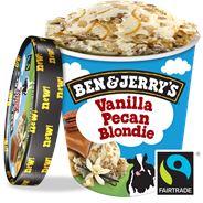B&J Vanille Pecan Blondie 500 ml 8x