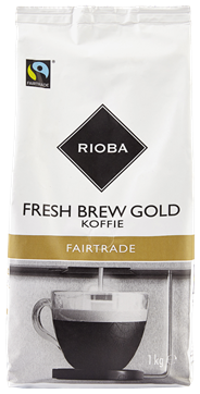Rioba Fresh brew gold fairtrade 1 kg