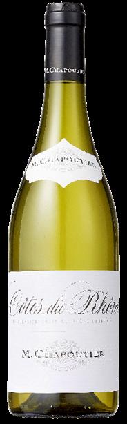 Chapoutier Cotes du Rhone White 75 cl
