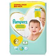 Pampers Premium Protection Maat 2, x68 Luiers, 4kg-8kg