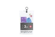 Simplehuman Afvalzakken Code  V 16-18 liter  60 stuks