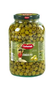 Carbonell Groene olijven zonder pit 4 liter