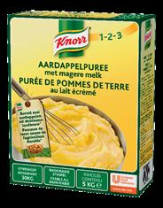 Knorr 1-2-3 Aardappelpuree met melk 5 kg