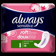 Always Sensitive Maandverband normal 16 stuks
