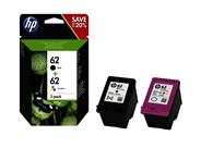 HP 62 Inktcartridge multipack BK/3-kleuren