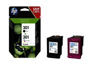 HP 301 Inktcartridge multipack BK/3-kleuren