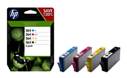HP 364 Inktcartridge multipack BKCMY