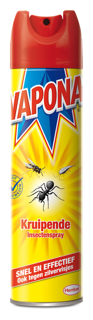Vapona Kruipende insecten- en wespenspray 400 ml