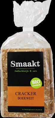 Smaakt Cracker boekweit 200 gram