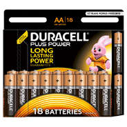 Duracell Plus Power AA 18 stuks