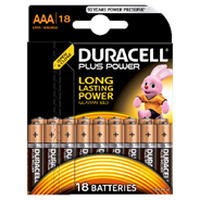 Duracell Plus Power AAA 18 stuks