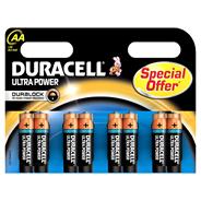 Duracell Ultra Power Aa 8Pack