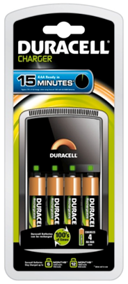 Duracell CEF15 4AA 1300MAH oplader
