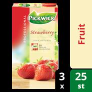 Pickwick professional Aardbeien 3 x 25 x 1,5 gram