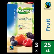 Pickwick professional Bosvruchten fairtrade 3 x 25 x 1,5 gram