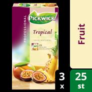 Pickwick professional Tropische vruchten 3 x 25 x 1,5 gram