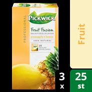 Pickwick professional Fruit fusion pineapple & lemon 3 x 25 x 1,5 gram