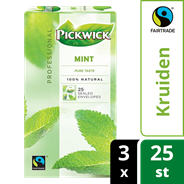 Pickwick professional Munt fairtrade 3 x 25 x 1,5 gram