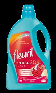 Fleuril renew 3D kleur 4,2 liter 70 wasbeurten