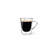 Dubbelwandig glas koffie 22 cl 2 stuks