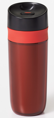 Oxo Good Grips Reisbeker 440 ml rood