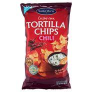 Santa Maria 475G Tortilla Chips Chili