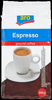 Aro Ground koffie 100% robusta 250 gram