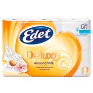 Edet Toiletpapier Deluxe Almond milk 4 x 6 rollen